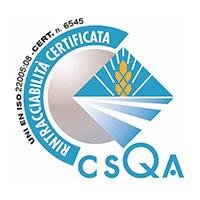 Certificazione rintracciabilità di filiera agroalimentare